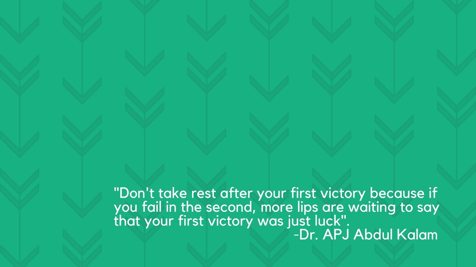 Happy New Year 2017 - Dr APJ Abdul Kalam Quotes Wallpaper