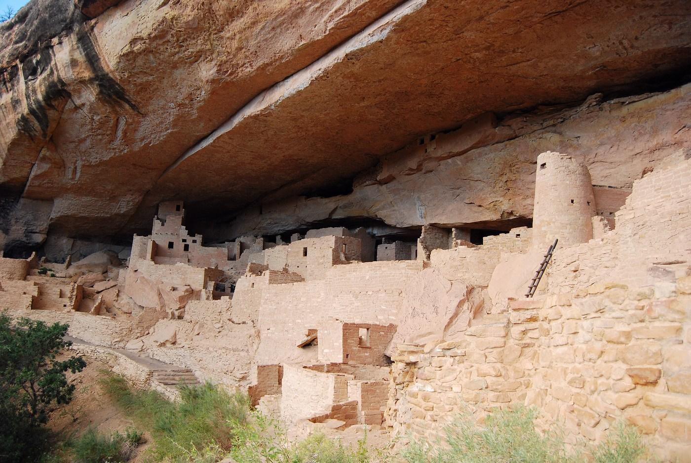 Cliff Palace est certainement la ruine la plus connue de Mesa Verde