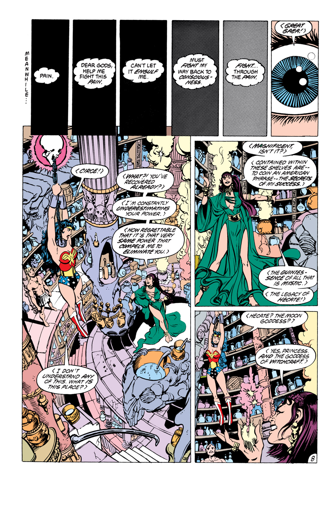 Read online Wonder Woman (1987) comic -  Issue #19 - 9