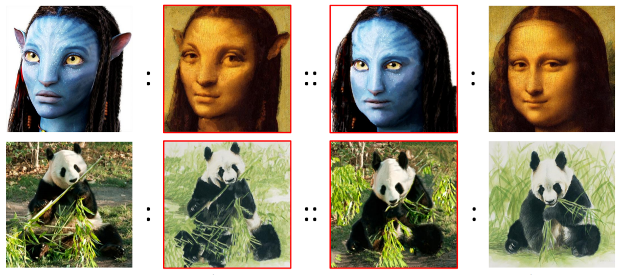 Deep Image Analogy Takes Image Style Transfer to Next Level