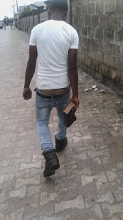 a christian youth sagging holding bible