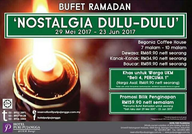 Senarai Buffet Ramadhan 2017 Di Selangor