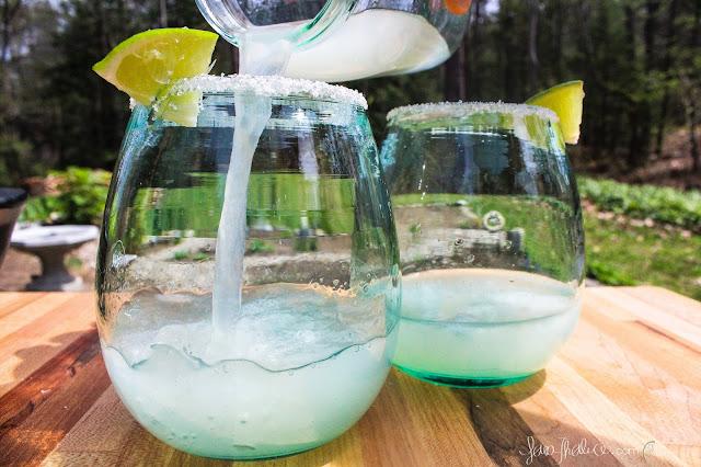 pouring a Classic Margarita for Cinco de Mayo