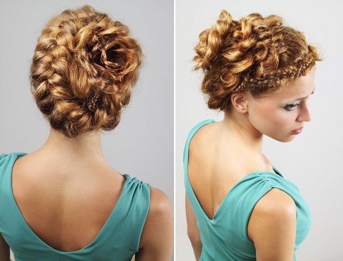 Peinados Novedosos Con Trenzas - Más de 1000 ideas sobre Peinados Niña Bonitos en Pinterest