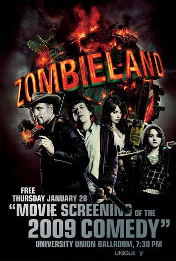 Zombieland 2009 Dual Audio