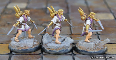 Ladrones de la banda de Mah-Ark