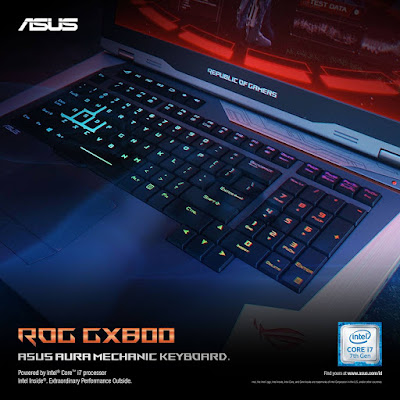 ASUS ROG GX800 Aura Mechanic Keyboard