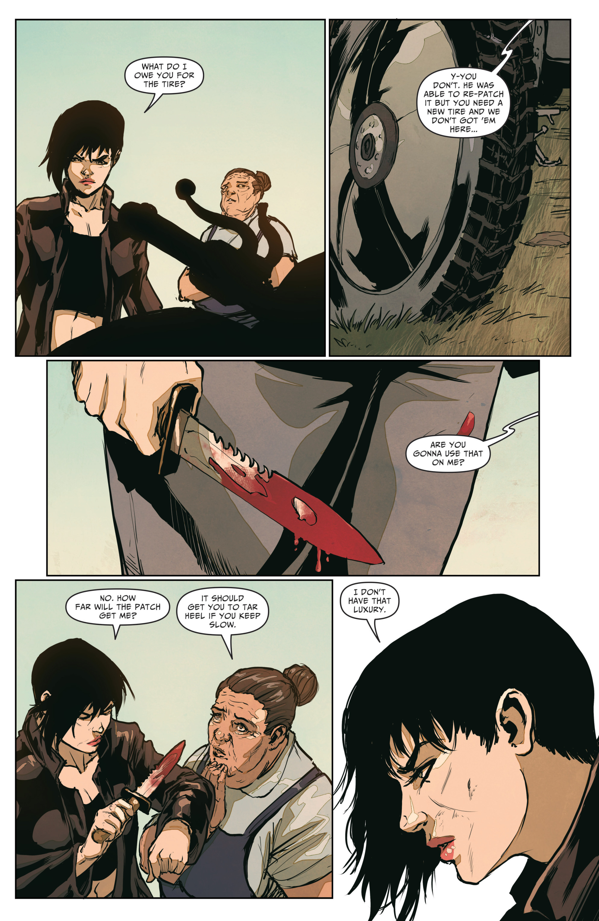 Read online The Courier: From the Ashes comic -  Issue #3 - 14