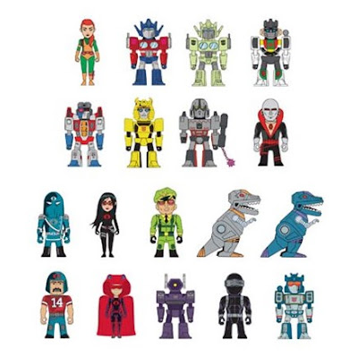 Transformers vs. G.I. Joe Vinyl Figure Collection by Tom Scioli x Kidrobot x Hasbro