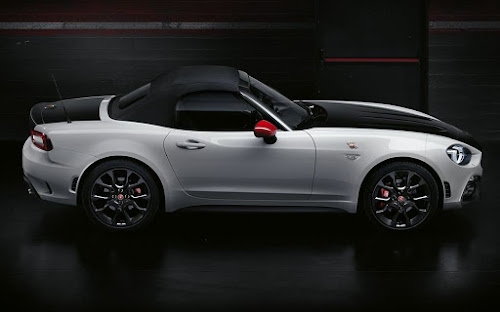 Abarth 124 spider top up