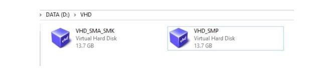 Cara Buat 2 VHD atau VDI Dalam Satu Virtual Box