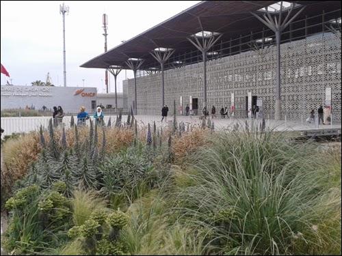 Nouvelle gare de Casa-Port