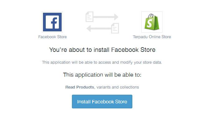 Cara Membuat Facebook Online Store 9