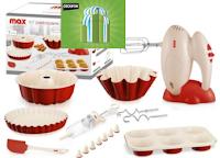 Logo Kit Max Casa pasticcere 7 pezzi con sconto del 28%: fino ad esaurimento
