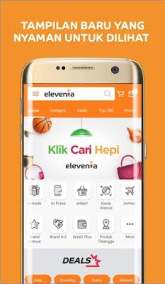 aplikasi jual beli online terpercaya di android elevenia