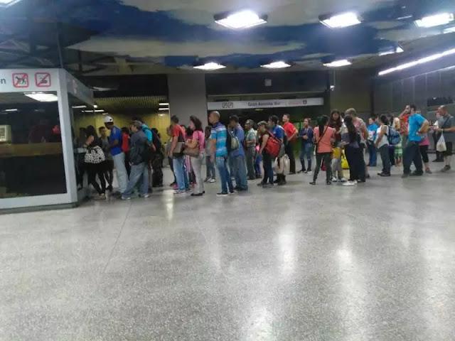 Metro de Caracas aplaza cobro de pasaje hasta el viernes 14 de septiembre