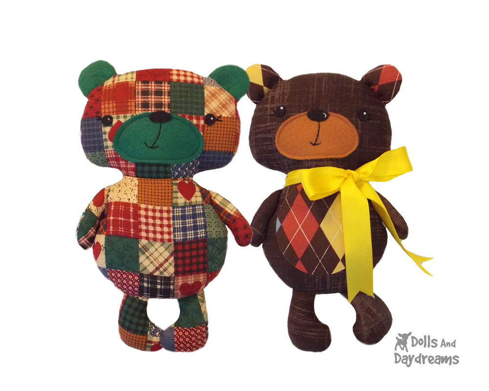 Dolls And Daydreams Doll And Softie Pdf Sewing Patterns New Teddy