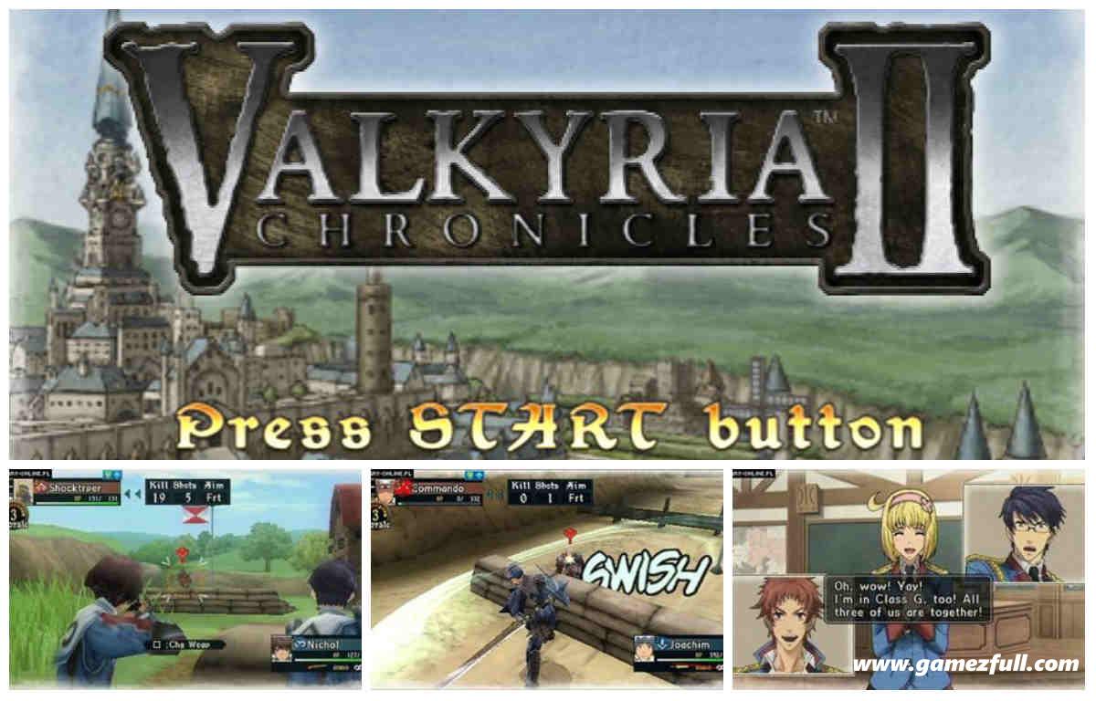 Valkyria Chronicles II PSP Full
