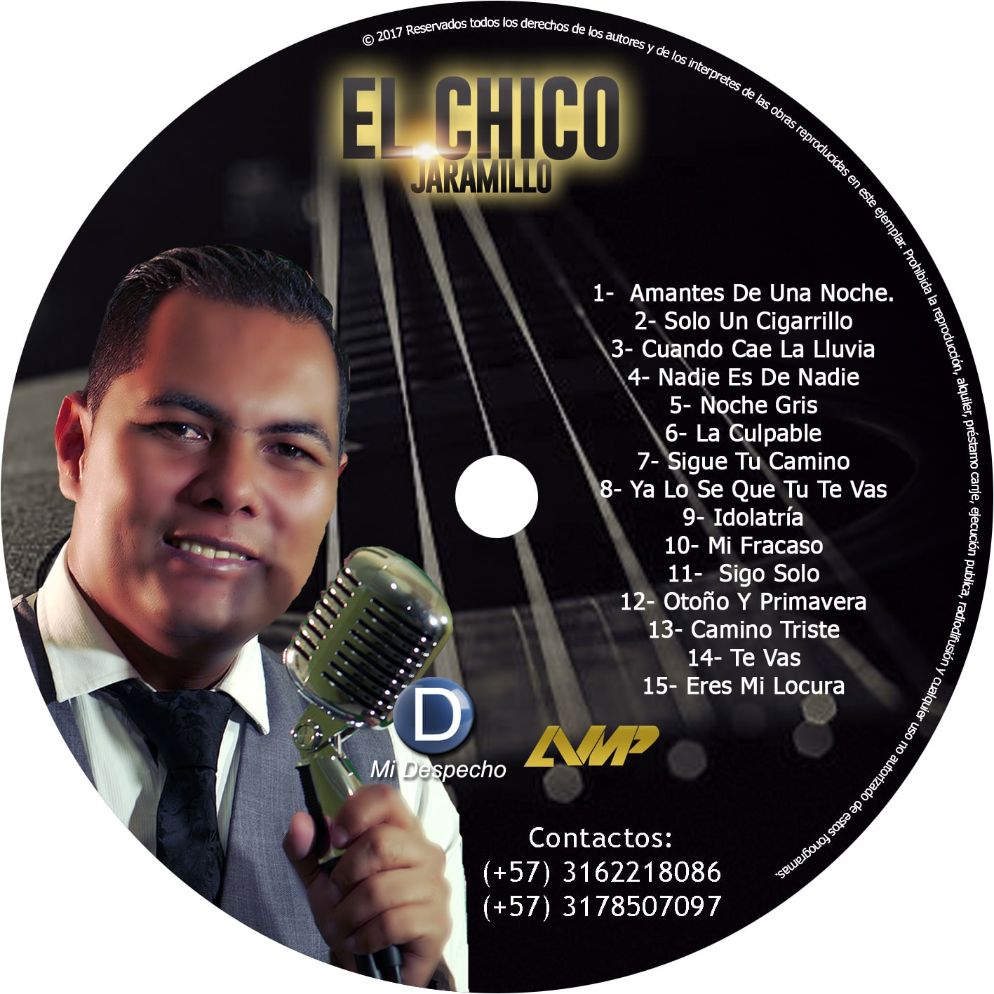 El Chico Jaramillo Cd