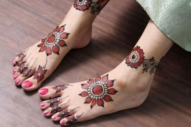 10 Model Henna Mehendi Kaki Simple Hennabalikpapan