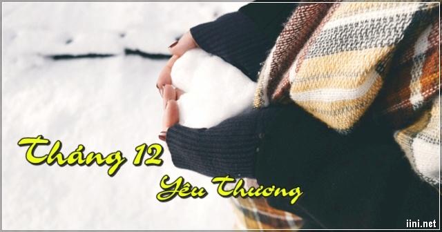 Chào Tháng 12 yêu thương bằng những bài Thơ, Status, Tản văn hay