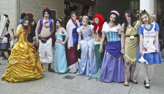 princesas de disney zombies