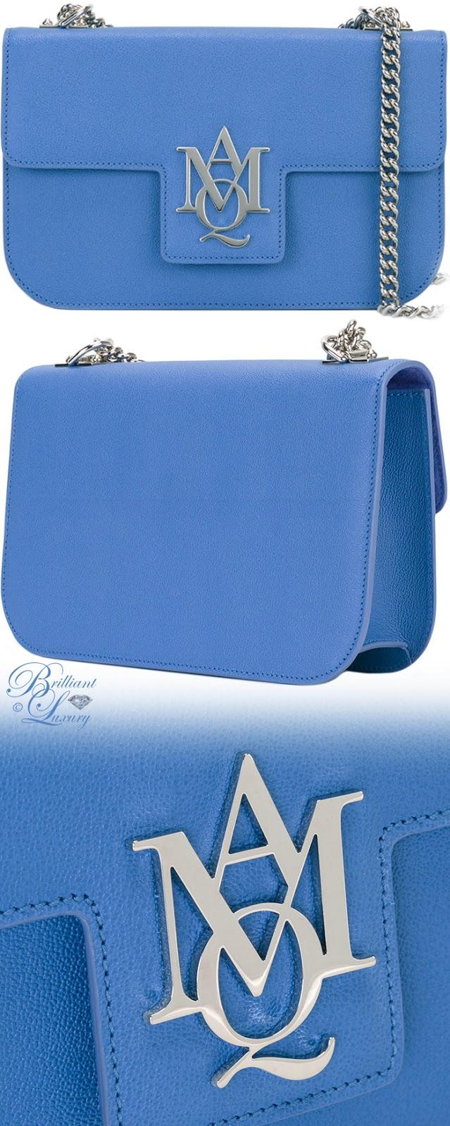 Brilliant Luxury ♦ Alexander McQueen Insignia Satchel