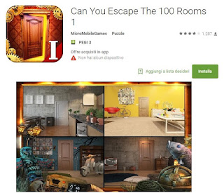 Soluzioni Can You Escape The 100 Rooms 1 di tutti i livelli