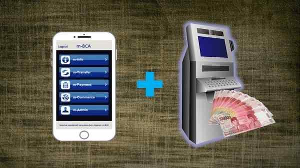 Cara Menarik Uang di ATM BCA Tanpa Kartu