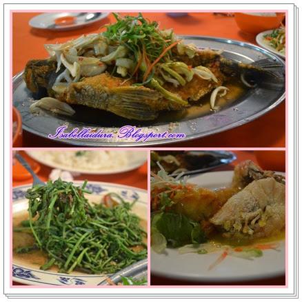 seafood sedap di Kuching Sarawak