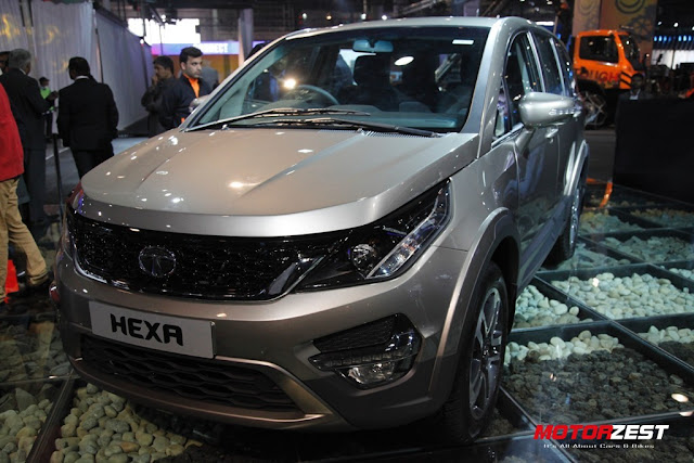 Tata Motors SUV Hexa at Delhi Auto Expo 2016