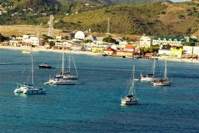 Isla San Martin Caribe