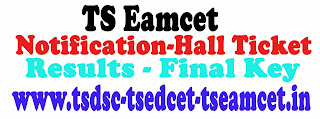 Telangana Eamcet 2016 Hall ticket/Results Details and Notification