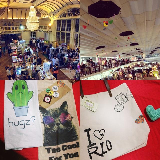 Minhas fotos do evento e comprinhas O Mercado