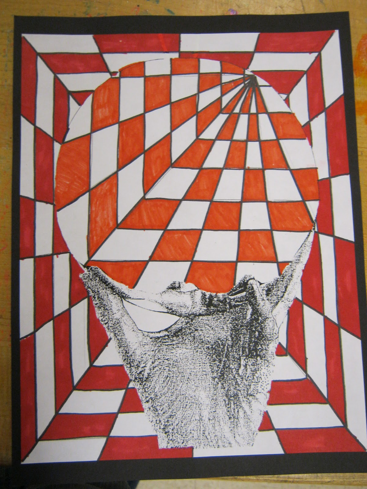 Art News From Mrs Melillo Op Art By 8th Graders