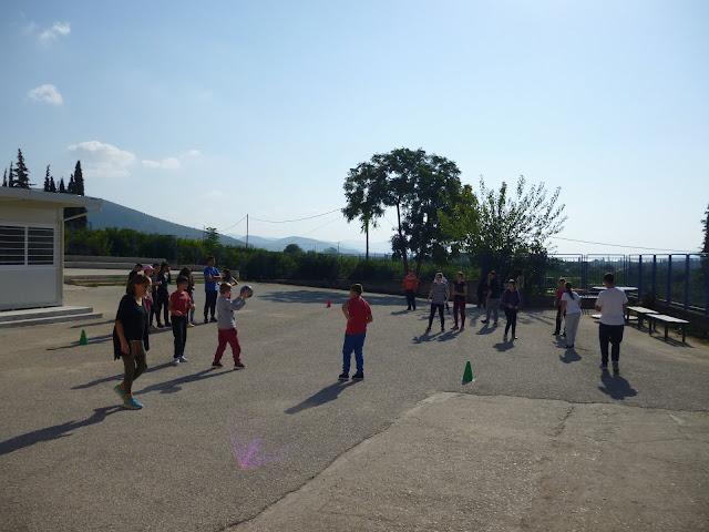 Αθλητικές εκδηλώσεις στο Ενιαίο Ειδικό Επαγγελματικό Γυμνάσιο-Λύκειο Αργολίδας για την την ημέρα Αθλητισμού
