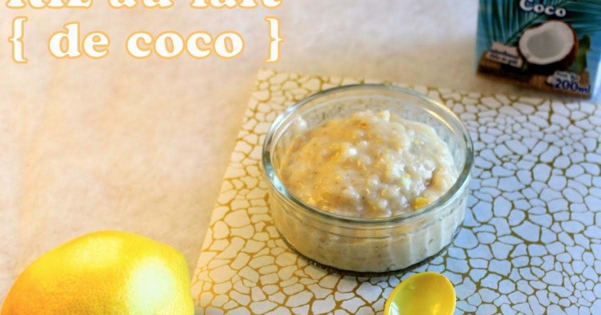 Cook a life by maeva riz au lait de coco et mangue qui rappelle le khao niao mamuang dessert - Riz lait de coco ...