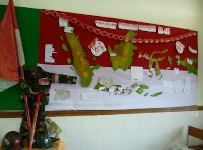dekorasi ruang kelas 17 agustus terbaru
