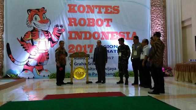 51 Tim Robotik Rebutkan Tiket Kontes Tingkat Dunia