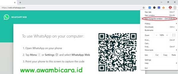 cara masuk banyak akun whatsapp web sekaligus
