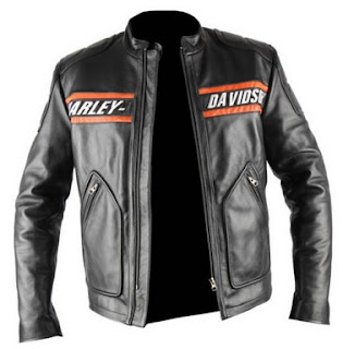 Gambar Jaket Kulit Biker Harley Davidson