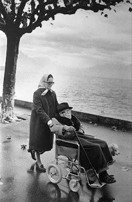 Уна Чаплин и Чарльз Чаплин, Веве, октябрь 1977 г. - 1