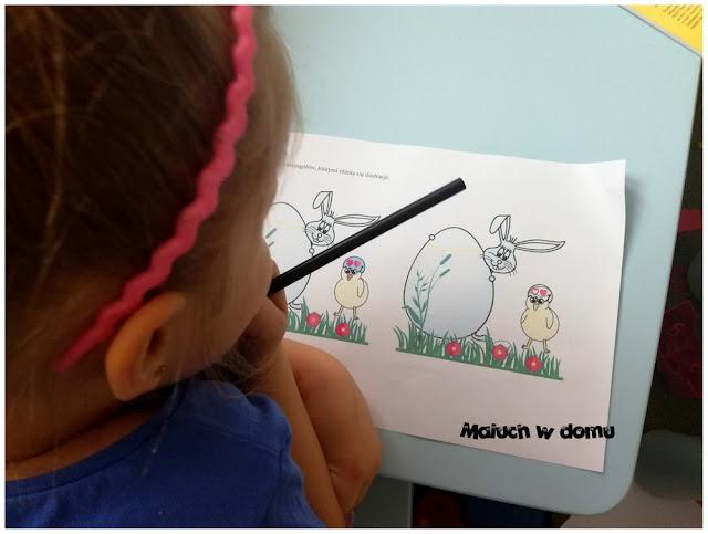 Wielkanoc - odnajdowanie różnic na obrazkach