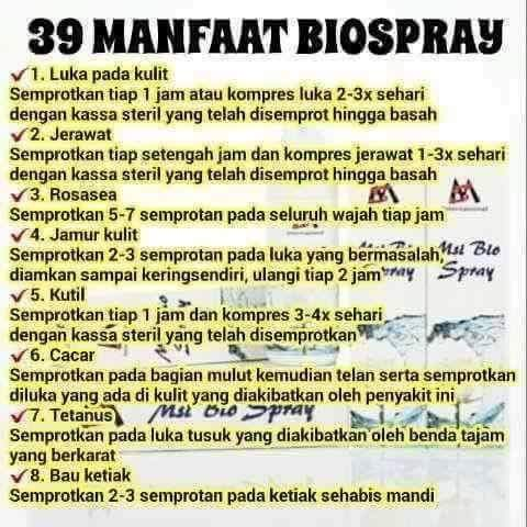 MANFAAT BIO SPRAY