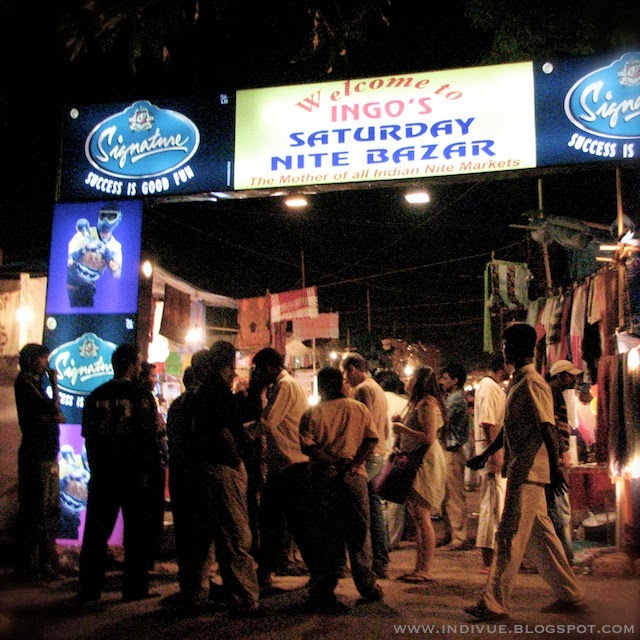 Ingo's Saturday Nite Bazar, Goa, Intia