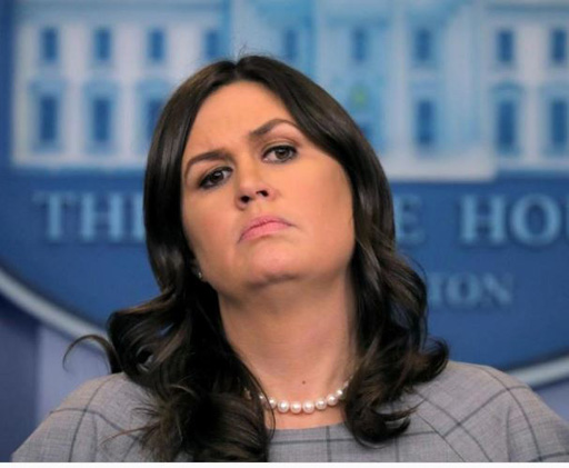 Joyless wonder and White House press secretary Sarah Huckabee Sanders left a Virginia restaurant when it was made clear she wasn't welcome in the establishment due to the owner's 'moral convictions'