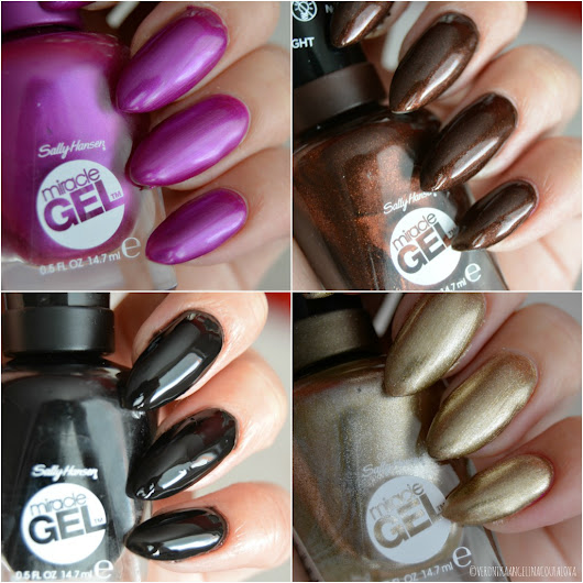 Angelina Beauty Blogger: Sally Hansen Miracle gel - moje nové odstíny