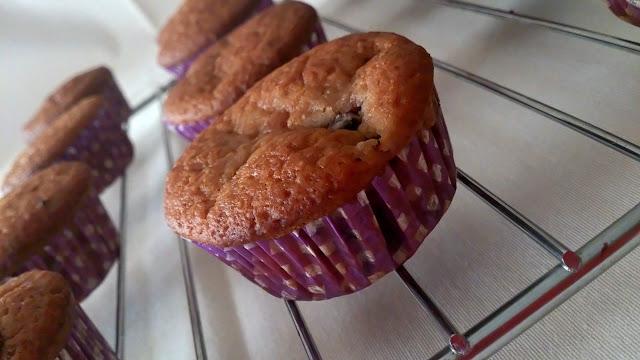 muffin magdalena mora zarzamora otoño verano casero desayuno merienda postre niños frutos del bosque
