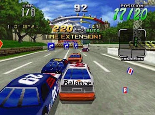 Daytona USA Deluxe (PC) 1996