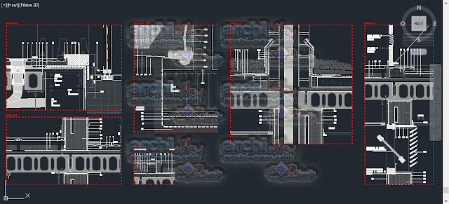 download-autocad-cad-dwg-file-Prefabricated-building-4-storeys